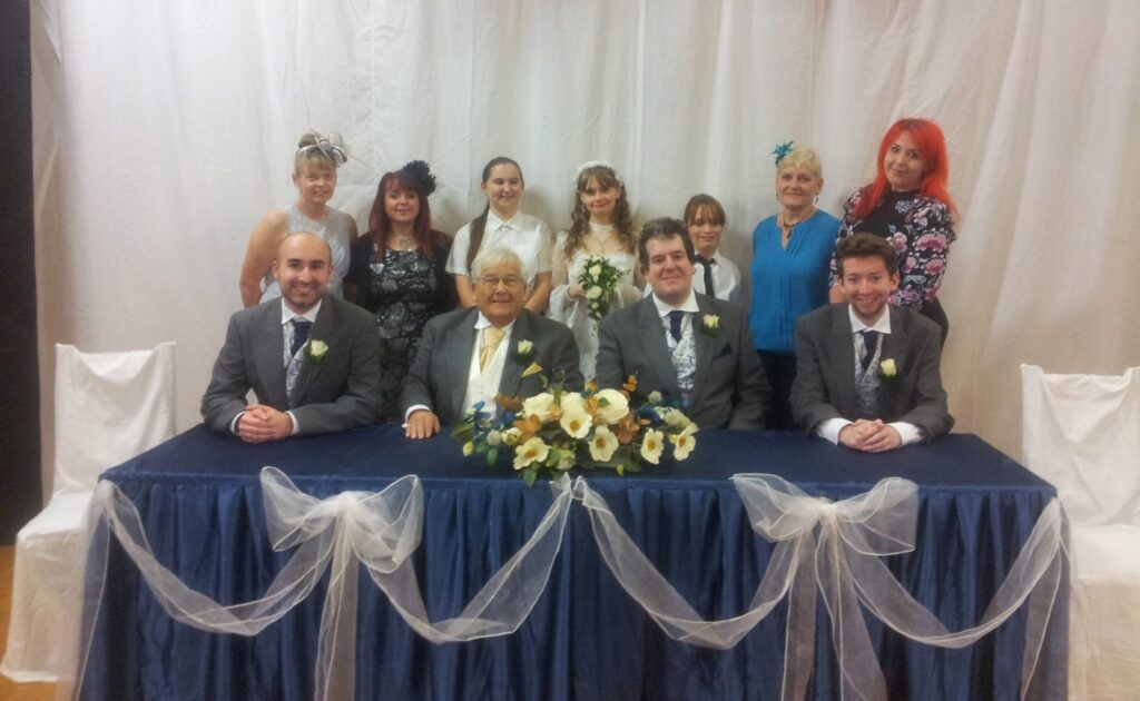 St Simon & St Jude's A Shotgun Wedding